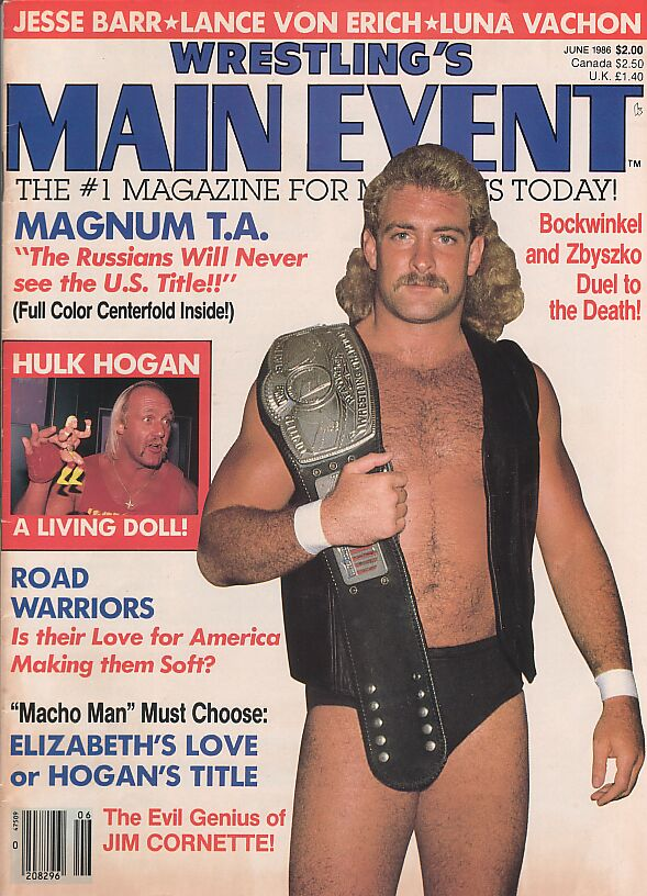 Wrestling's Main Event, June 1986