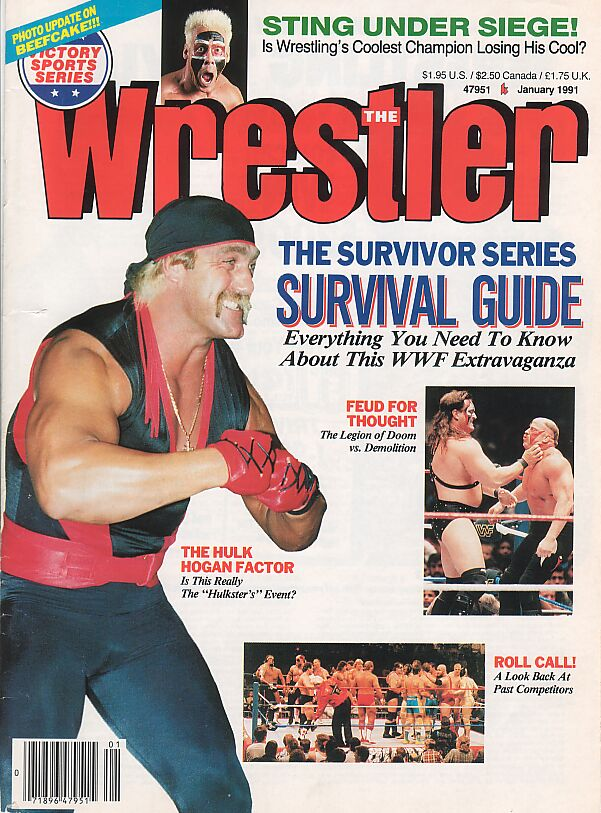 The Wrestler, January 1991