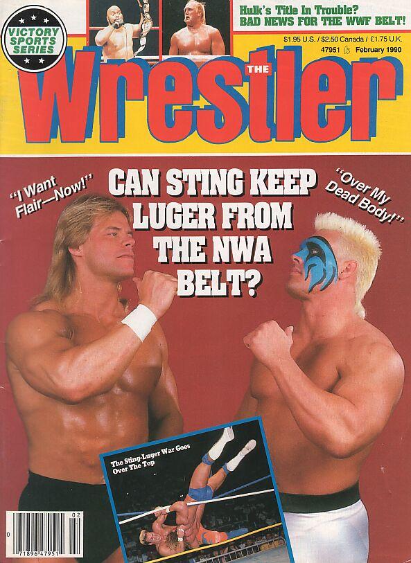 The Wrestler, February 1990