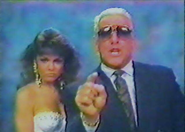 Ric Flair and Woman