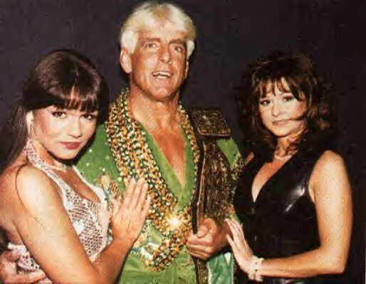 Elizabeth, Ric Flair, and Woman