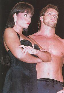 Chris Benoit and Woman