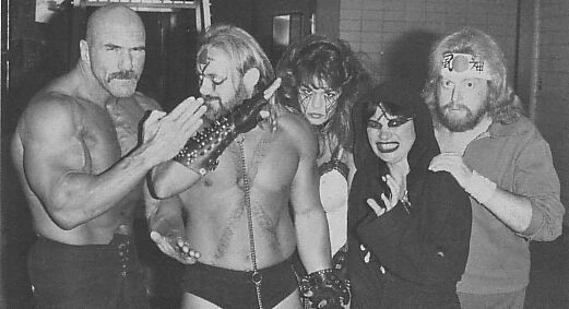 """Superstar"" Billy Graham, The Fallen Angel, Kevin Sullivan, The Lock, and Sir Oliver Humperdink"