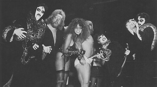 Abudadein, Aug, The Fallen Angel, Kevin Sullivan, The Lock, and Sir Oliver Humperdink