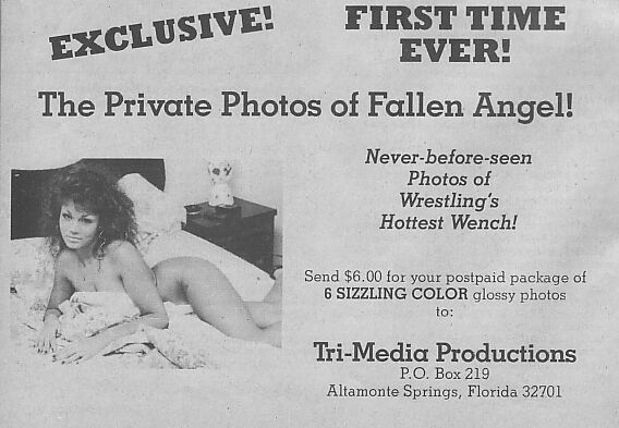 The Private Photos of Fallen Angel!
