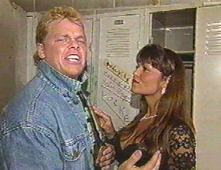 Shane Douglas and Woman