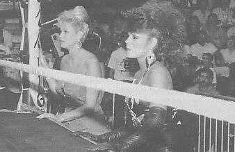 Missy Hyatt and Robin Green