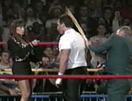 The Sandman, Tommy Dreamer, and Woman