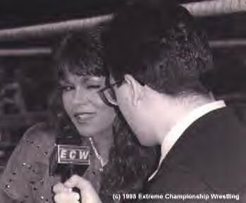 Joey Styles and Woman