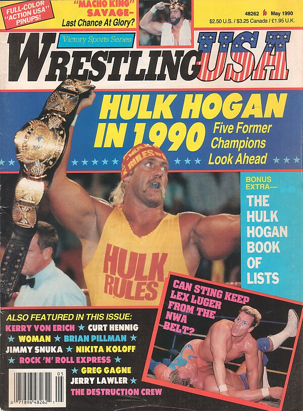 Wrestling USA, May 1990